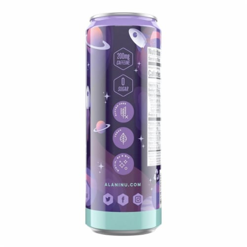 Alani NU Cosmic Stardust Energy Drink Perspective: right