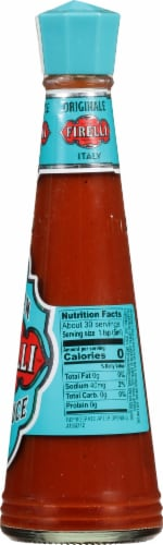 Firelli Italian Hot Sauce Perspective: right