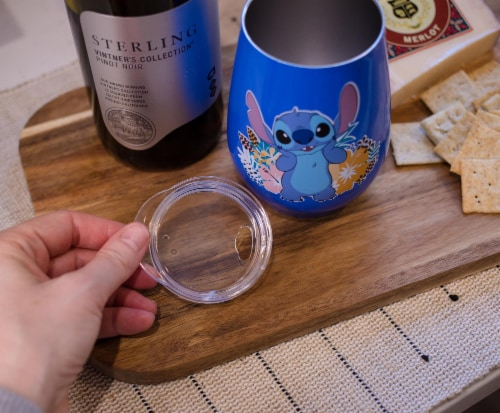 Disney Lilo & Stitch 10oz Stainless Steel Tumbler w/ Lid Perspective: right
