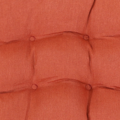 Sunnydaze Tufted Olefin 3-Piece Indoor/Outdoor Settee Cushion Set - Burnt Orange Perspective: right