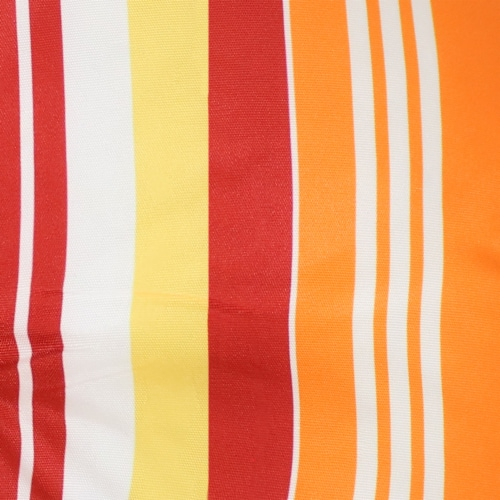 Sunnydaze Polyester Round Patio Seat Cushions - Set of 2 - Sherbert Stripes Perspective: right