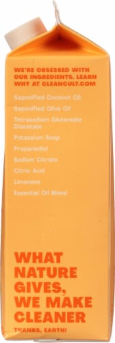 Cleancult Orange Zest All Purpose Cleaner Refill Perspective: right