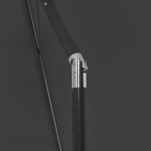 vidaXL Beach Umbrella Anthracite 70.9 x47.2 Perspective: right