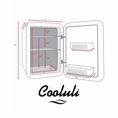 Cooluli Classic 10 Liter Portable Compact Mini Fridge - White Perspective: right