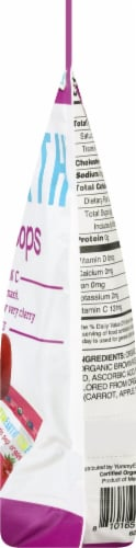 Yum Earth Organics Vitamin C Pops Perspective: right