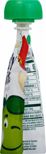 Buddy Fruits Original Gluten Free Pure Blended Apple Fruit Pouch Perspective: right