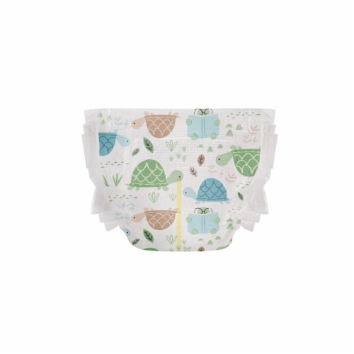 The Honest Co. Trains + Breakfast Print Size 2 Diapers Perspective: right