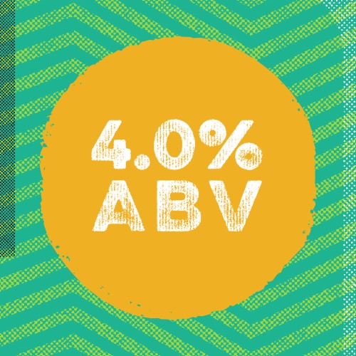 Golden Road Brewing Mango Cart Wheat Ale Perspective: right
