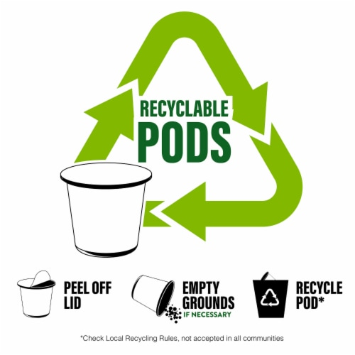 Brooklyn Beans Flavored Hot Chocolate Pods, for 2.0 Keurig, Mexican Cocoa, 40 Count Perspective: right