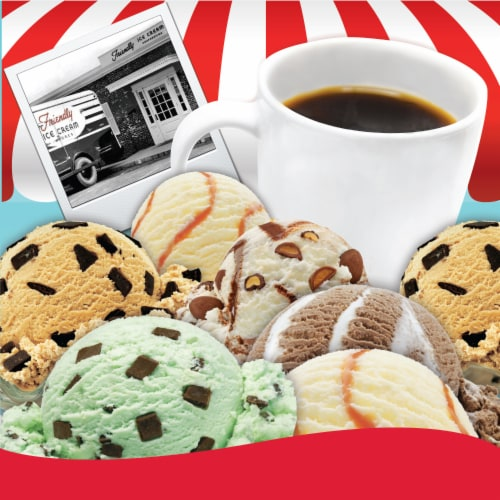 Friendly's Ice Cream Flavored Coffee Pods for Keurig 2.0, Mint Chocolate Chip, 40 Count Perspective: right
