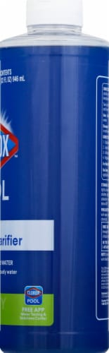 Clorox Pool & Spa Super Water Clarifier Perspective: right