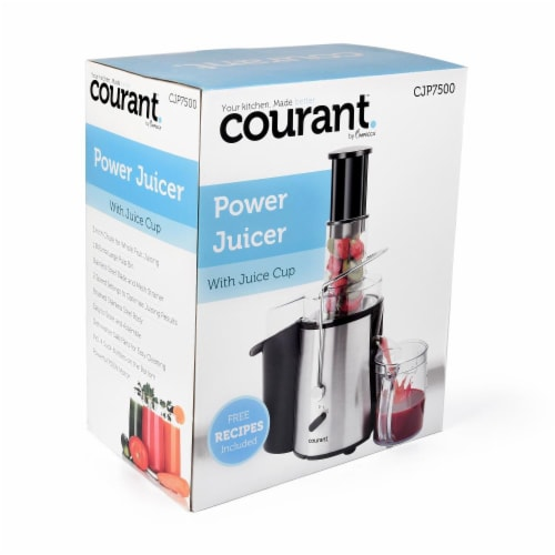 750 Watts Power Juicer with Juice Cup Perspective: right