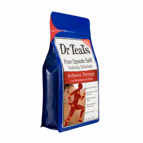 Dr Teal's Wellness Therapy Pure Epsom Salt Soaking Solution Perspective: right