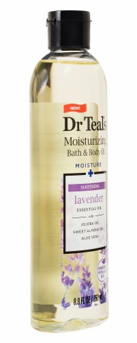 Dr Teal's Lavender Bath & Body Oil Perspective: right