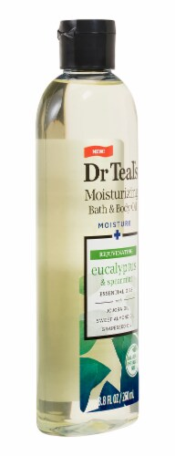 Dr Teal's Eucalyptus & Spearmint Body & Bath Oil Perspective: right