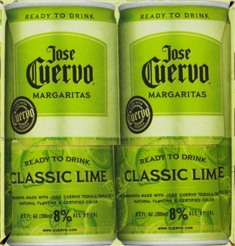 Jose Cuervo Lime Margaritas Perspective: right