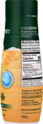 SodaStream Ginger Ale Drink Mix Perspective: right