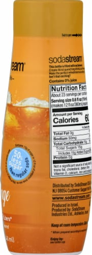 SodaStream Orange Zero Calorie Mix Perspective: right
