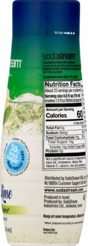 SodaStream Lemon Lime Drink Mix Perspective: right