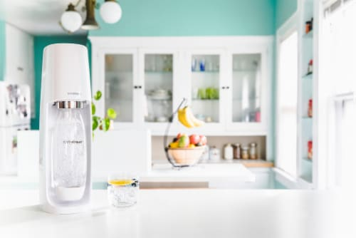 SodaStream Fizzi Sparkling Water Maker - White Perspective: right
