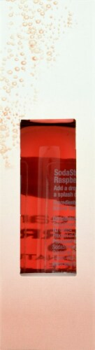 SodaStream Raspberry Drops Unsweetened Natural Flavor Essence Perspective: right