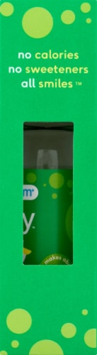 SodaStream bubly drops Lime Unsweetened Natural Flavor Essence Perspective: right