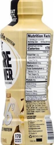 Core Power Vanilla High Protein Milk Shake Perspective: right