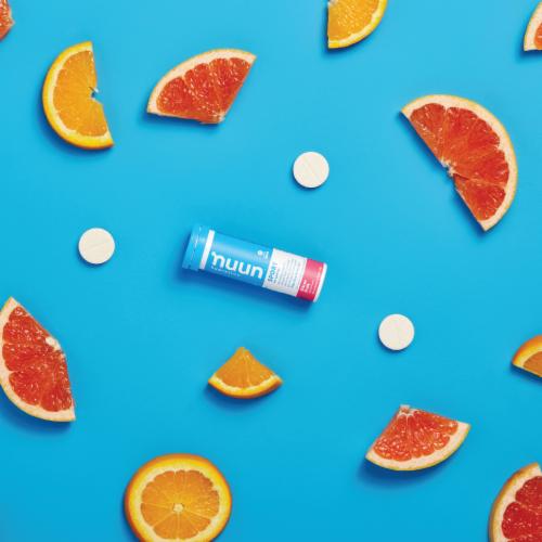 Nuun Active Citrus Fruit Beverage Enhancer Tablets Perspective: right