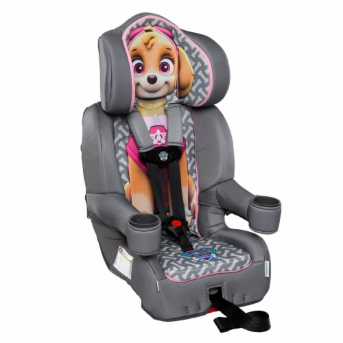 KidsEmbrace Nickelodeon Paw Patrol Skye Combination Harness Booster Car Seat Perspective: right