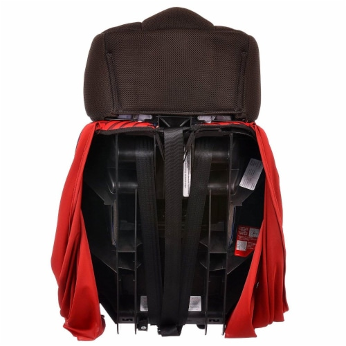 Kids Embrace DC Comics Superman Combination Harness Booster Car Seat with Cape Perspective: right