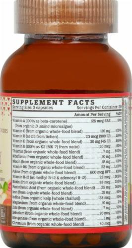 NutriGold Organic Prenatal Multi Gold Dietary Supplement Perspective: right