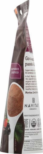 Navitas Organic Cacao Goji and Acai Antioxidant Blend Perspective: right