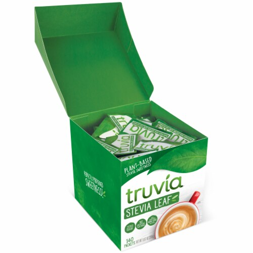 Truvia Stevia Leaf Naturally Sweet Calorie-Free Sweetener Perspective: right