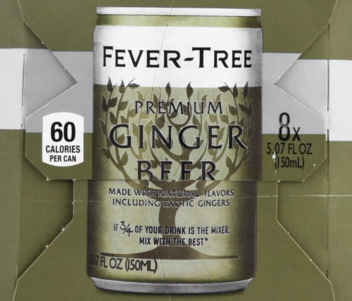 Fever-Tree Ginger Beer Perspective: right