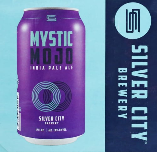 Silver City Brewery Seasonal Lager Perspective: right