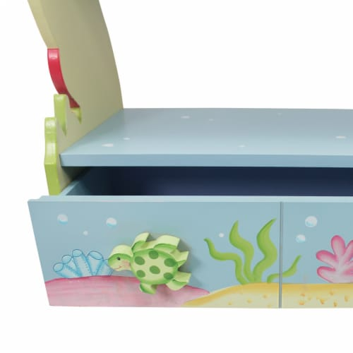 Fantasy Fields - Toy Furniture -Under The Sea Bookshelf W-7490A Perspective: right