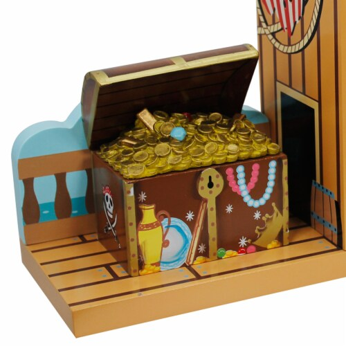 Fantasy Fields Children Wooden Bookends Kids Book Ends Decoration Gift TD-11605A Perspective: right