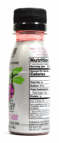 Beet It Sport Nitrate 400 Concentrated Beet Juice Shot Perspective: right