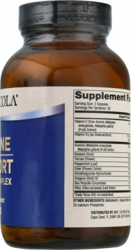 Dr. Mercola® Immune Support Herbal Complex Supplement Capsules Perspective: right