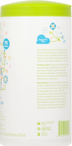 Babyganics All Purpose Surface Wipes Perspective: right
