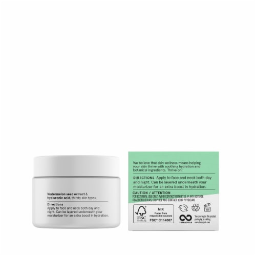 Acure Ultra Hydrating Facial Gel Cream Perspective: right