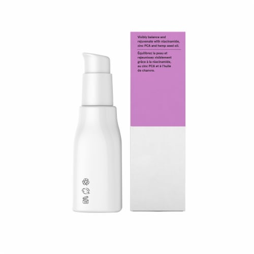 Acure Radically Rejuvenating Niacinamide Serum Perspective: right