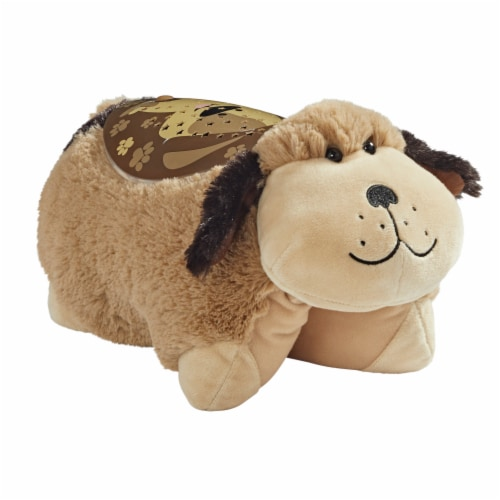 Pillow Pets Snuggly Puppy Sleeptime Lite Plush Toy Perspective: right