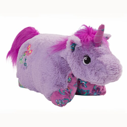 Pillow Pets Unicorn Plush Slumber Pack - Lavender & Pink Perspective: right
