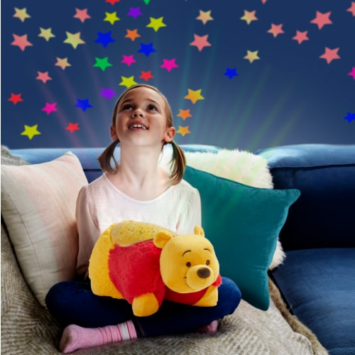 Pillow Pets Sleeptime Lite Disney Winnie the Pooh Plush Toy Perspective: right
