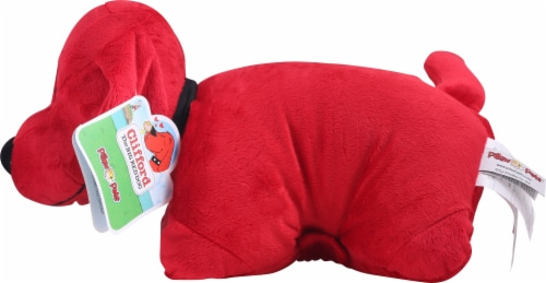 Pillow Pets Scholastic Corp. Clifford The Big Red Dog Plush Toy Perspective: right