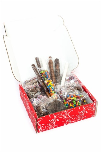 Chocolate Pretzel Passion Gift Assortment Perspective: right