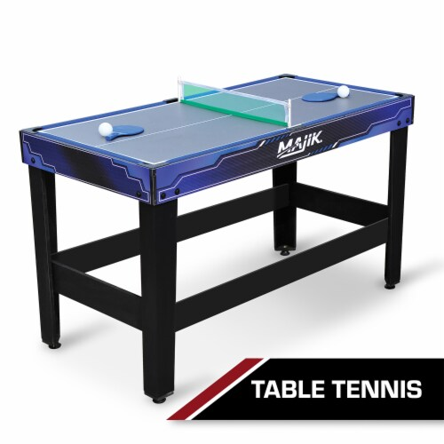 Eastpoint Sports Majik 54 Inch 4 in 1 Multi Game Arcade Combination Table Set Perspective: right