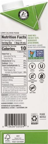 Califia Farms Unsweetened Almond Milk Creamer Perspective: right