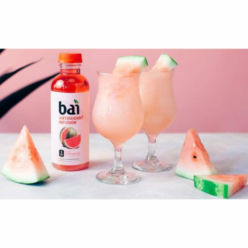 Bai Kula Watermelon Antioxidant Infused Beverages 6 Count Perspective: right